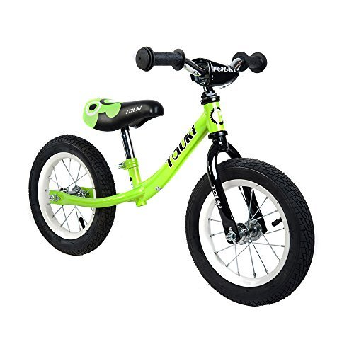 Tauki Kid Balance Bike No Pedal Push Bicycle 12 Inch Lime 95% assembled [並行輸入品] B07BNXNB7T