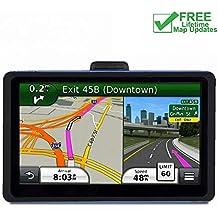 Serie de sistemas de navegación GPS para coche.