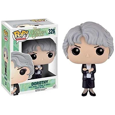 Funko POP TV: Golden Girls Dorothy Action Figure: Artist Not Provided: Toys & Games