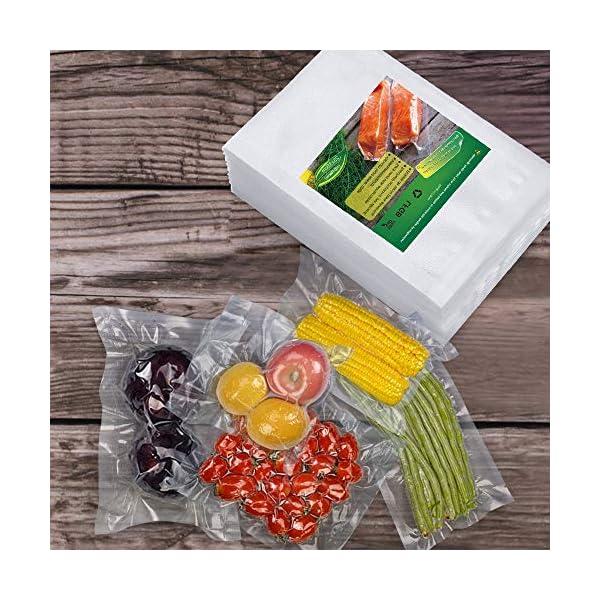 BoxLegend Sacchetti Sottovuoto Alimenti, 100 sacchetti 20x30 cm per la Conservazione Degli Alimenti e Cottura Sottovuoto… 7