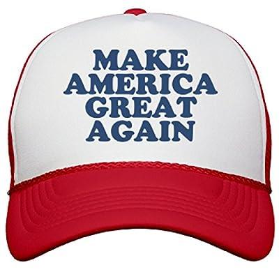 Make America Great Hats: Snapback Mesh Trucker Hat