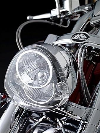 51yakMvP8KL._SY450_ amazon com piaa american iron horse chrome headlight unit high american ironhorse texas chopper wiring diagram at edmiracle.co