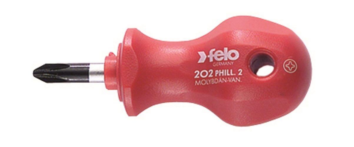 Series 200 Length 1 Felo 0715713103 Phillips PH2 Stubby Screwdriver
