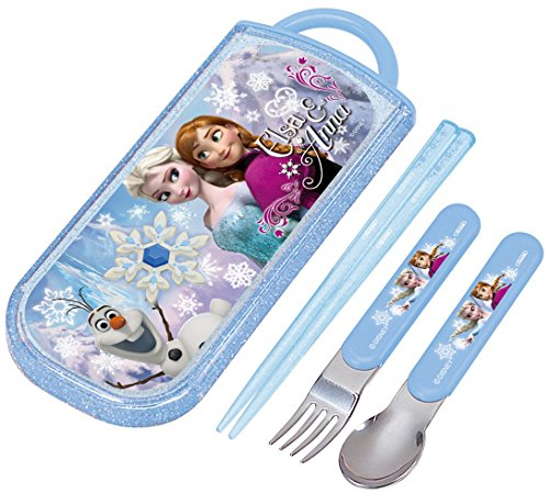 Frozen 15 Disney TCS1RF chopsticks spoon fork Trio set