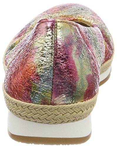 Gabor Comfort Sport, Ballerine Donna Multicolore (Fantastic Jute)