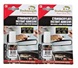 2x CLEAR ADHESIVE GLUE FOR GLASS & REAR VIEW MIRROR 8g High Quality NEW