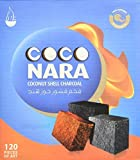 Box of 120pcs Coconut Coco nara coconara Premium Lighting Hookah Hokah charcoal coals- TOTAL 240pcs by Coconara Charcoal Hookah Hokah