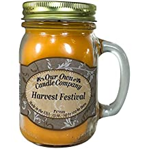 Harvest Festival Scented 13 Ounce Mason Jar Candle By Our Own Candle Company