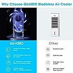 QUARED-4-in-1-Condizionatore-dAria-Raffreddatore-dAria-Air-Cooler-Aria-condizionata-Umidificatore-Ventilatore-serbatoio-dellacqua-da-35-l-basso-consumo-energetico-timer-1248-per-la-casa