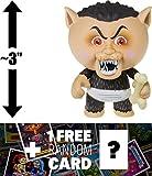 Eerie Eric: ~3'' Garbage Pail Kids x Funko Mystery Minis Mini-Figure Series #2 + 1 FREE GPK Trading Card/Sticker Bundle (108454)