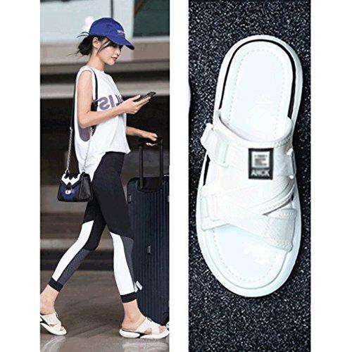 Pantofole Sport Femminile Di Dei Sandali dimensioni 4 Usura Di Estate 5 Modo rrOqHd
