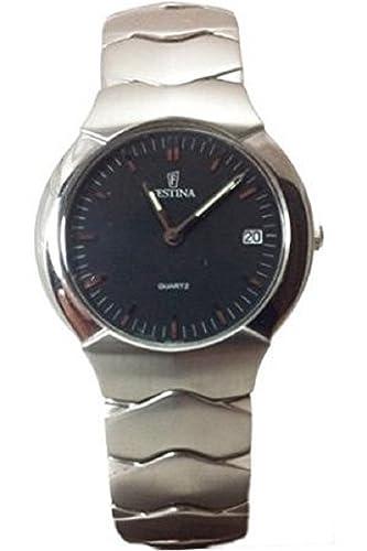 Festina F6654/2 Reloj mujer acero y esfera Gris oscura: Amazon.es: Relojes