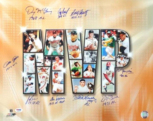 Pete-Rose-Autographed-PSADNA-Authenticated-16x20-Photo-With-9-Signatures-Including-Pete-Rose-Jim-Rice-Signed-Photos
