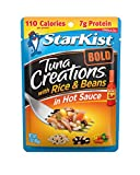 #6: StarKist Tuna Creations BOLD - Tuna, Rice & Beans 2.6 Ounce (Pack of 24)