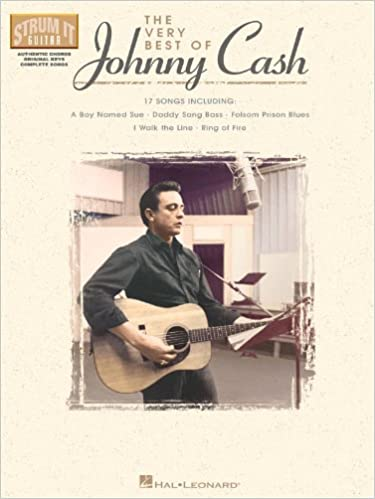 Amazon The Very Best Of Johnny Cash Strum It Guitar Books