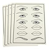 TP-Multifunctional-Tattoo-Practice-Skin-Permanent-Makeup-Mannequin-for-Eyebrow-Eyeliner-Lips-Cosmetic-Training-Sheet-Painting-Tool-5pcs