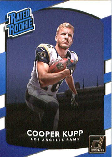 2017 Donruss #329 Cooper Kupp Los Angeles Rams Rated Rookie Football Card