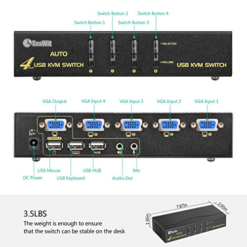 Kvm Switch For 3 Computers
