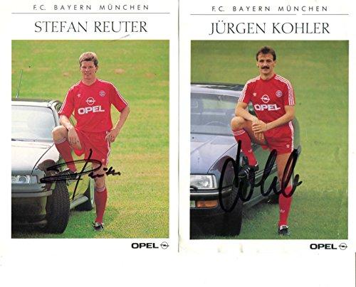 jurgen-kohler-stefan-reuter-autographs-signed-cards