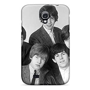 Durable Hard Phone Covers For Samsung Galaxy S4 (hwZ12175OOLV) Unique Design Trendy Rolling Stones Image