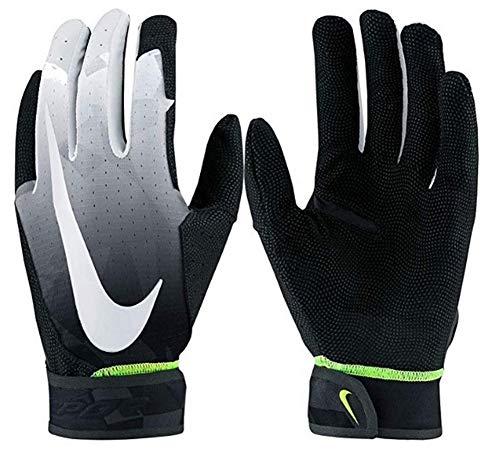 Nike Adult Unisex Vapor Elite Baseball Batting Gloves, Black, L (Nike Vapor Elite Batting Gloves)