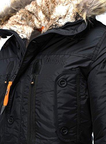 Geographical Abrigo Para Negro Hombre Norway Nz8xhwtrxq UYxgnq