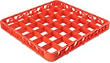 Carlisle RE36C24 OptiClean 36 Compartment Glass Rack Extender, 2.94'' Compartments, Orange (Pack of 6)