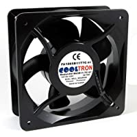 115V AC Cooling Fan. 180mm x 65mm HS