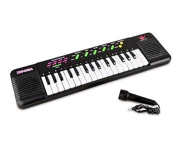 Teclado 32 Teclas Juegos con sonidos y melodías Pianola Niños Música Fair Shoponline: Amazon.es: Juguetes y juegos