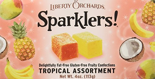 Liberty Orchards Sparklers! Tropical Assortment 4 Oz