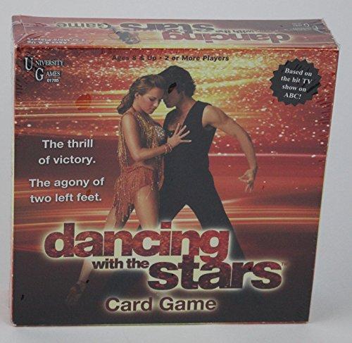 University Games Dancing Stars Card