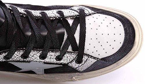 Golden Goose Scarpe Sneakers Alte Uomo 2.12 G26U599E1 White British Deluxe Italy
