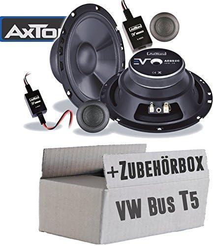 Vw Bus T5 Front Loudspeaker Boxes Axton Ae652 C Car 16 Cm Mounting Accessories Mounting Kit Navigation Car Hifi