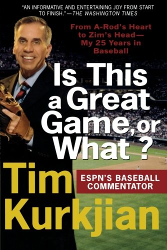 Zims Head - Is This a Great Game, or What?: From A-Rod's Heart to Zim's Head--My 25 Years in Baseball