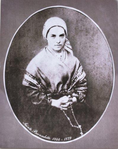 Saints Portrait (Portrait Picture of Saint Bernadette Soubirous 1844 - 1879)