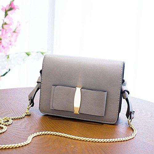 Aoligei Sac à bandoulière coréenne version féminine des loisirs de sac féminin mode oblique Croix paquet petit côté B