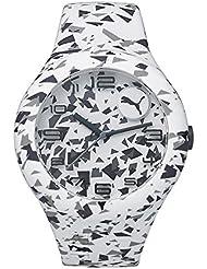 Puma PU103211025 Unisex Form XL White Design Silicone Watch