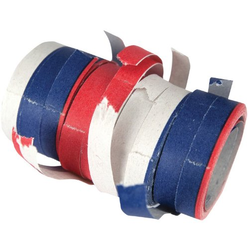 Creative Converting Serpentine Streamers/Throws, Red, White and Blue by Creative Converting