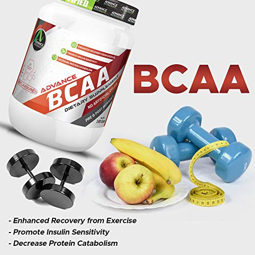 Advance Nutratech Bcaa – 100 G (Orange) (10 Servings)   Free Shaker   Flavoured for Lean Intra Workout Energy Supplement for Men and Women   No Sugar
