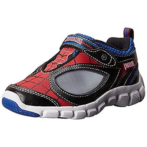 Stride Rite Spider-Man Spidey Reflex Light-Up Shoe (Infant/Toddler/Little Kid),Red/Black,6 M US Toddler