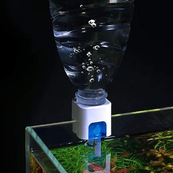 POPETPOP Acuario con Sistema de llenado automático - Acuario de ...
