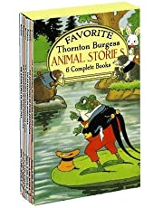 Favorite Thornton Burgess Animal Stories Boxed Set