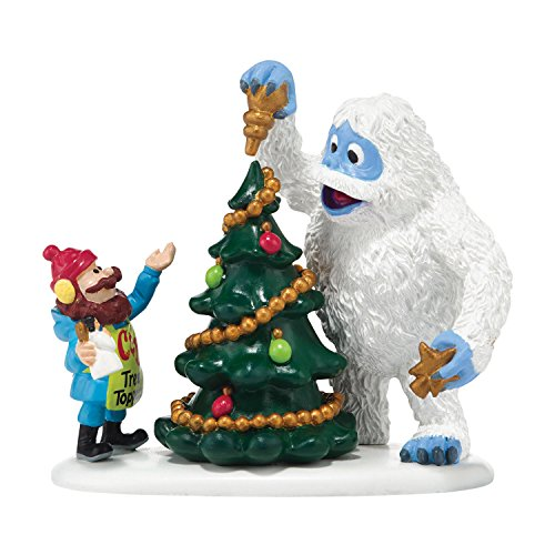 Department 56 North Pole Village Cornelius and Bumble New Venture Accessory, 4-Inch