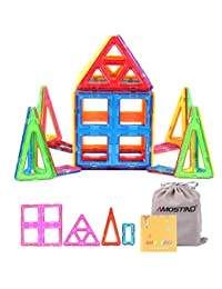 AMOSTING Magnetic Building Blocks Large Size Toy Tiles Sheet Kit - 26pcs BOBEBE Online Baby Store From New York to Miami and Los Angeles