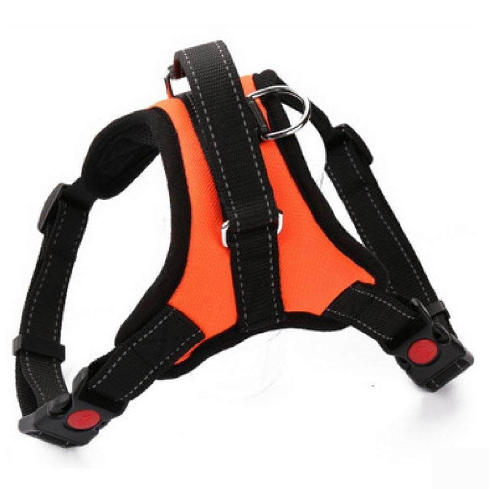 C Medium C Medium Ambiguity Vest Harness,Medium and Large Dog Traction Rope pet Chest Strap Dog Chain