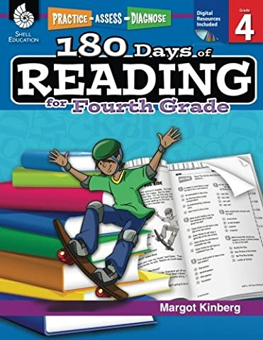 180 Days of Reading for Fourth Grade (180 Days of Practice) (Castle Season 2 Instant)