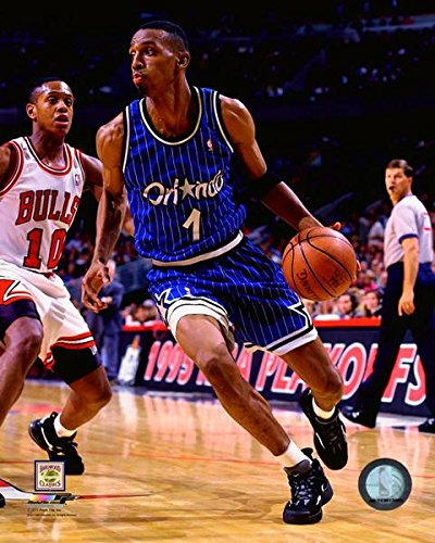 Anfernee Hardaway Orlando Magic Action Photo (Size: 8