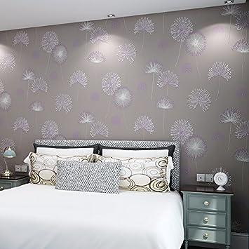 Perfekt Koreanische Löwenzahn Rosa Tapete Schlafzimmer Wohnzimmer Bett Ländlichen  Vlies Tuch Lila Tapete Hintergründe Specials E