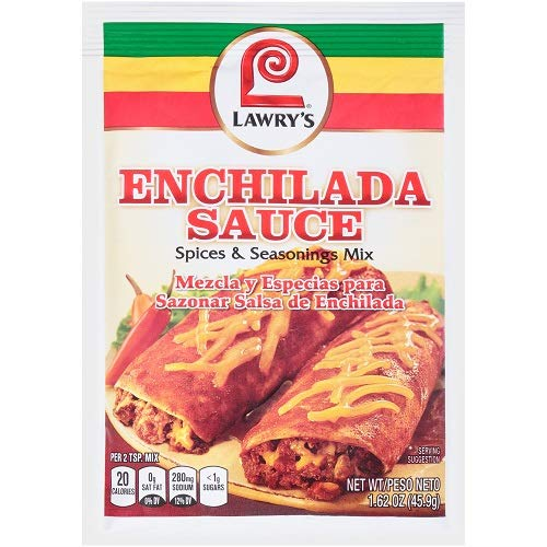 Amazon.com : Lawrys Enchilada Sauce Mix, 1.62 oz (Pack of 12) : Grocery & Gourmet Food