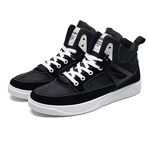 Tacco EU Tinta hj per Dimensione Scarpa Piatto Nero Lacci 42 Man Color Uomo Sneaker Tennis con da Unita gq0nPxTf